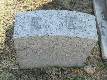 ENOS, EUGENE - Calhoun County, Michigan | EUGENE ENOS - Michigan Gravestone Photos