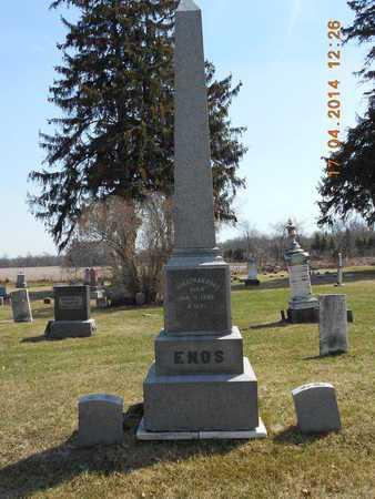 ENOS, FAMILY - Calhoun County, Michigan | FAMILY ENOS - Michigan Gravestone Photos