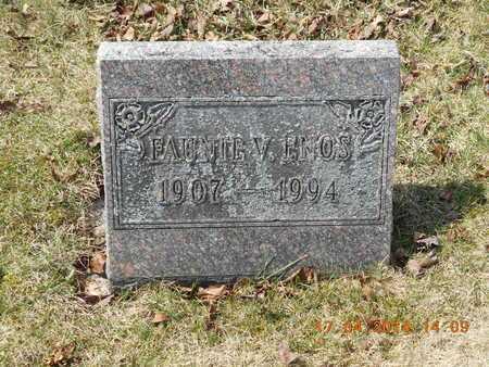 ENOS, FAUNIE V. - Calhoun County, Michigan | FAUNIE V. ENOS - Michigan Gravestone Photos