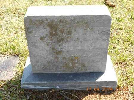 ENOS, HATTIE - Calhoun County, Michigan   HATTIE ENOS - Michigan Gravestone Photos