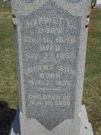 ENOS, INFANT SON - Calhoun County, Michigan | INFANT SON ENOS - Michigan Gravestone Photos