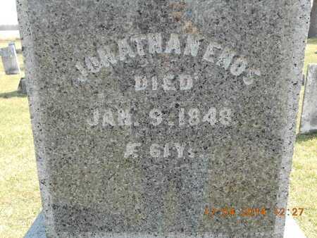 ENOS, JONATHAN - Calhoun County, Michigan | JONATHAN ENOS - Michigan Gravestone Photos