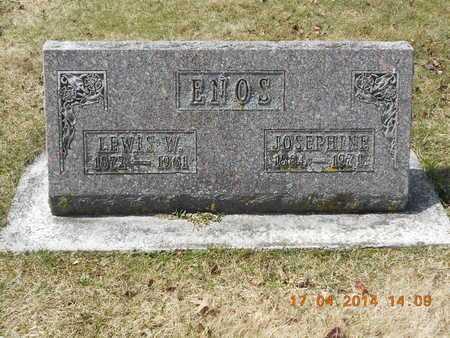 ENOS, JOSEPHINE - Calhoun County, Michigan | JOSEPHINE ENOS - Michigan Gravestone Photos