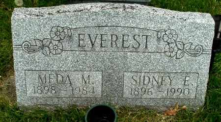 EVEREST, SIDNEY E - Calhoun County, Michigan | SIDNEY E EVEREST - Michigan Gravestone Photos