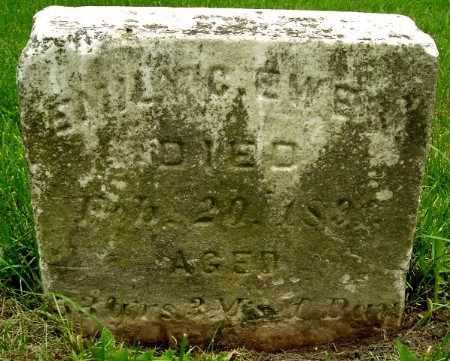 EWER, EMILY C - Calhoun County, Michigan | EMILY C EWER - Michigan Gravestone Photos