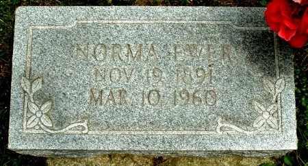 EWER, NORMA - Calhoun County, Michigan   NORMA EWER - Michigan Gravestone Photos