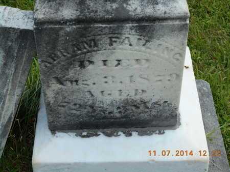 FAILING, ABRAM - Calhoun County, Michigan | ABRAM FAILING - Michigan Gravestone Photos