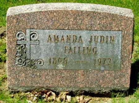 FAILING, AMANDA - Calhoun County, Michigan   AMANDA FAILING - Michigan Gravestone Photos