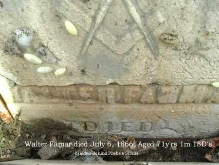 FARMAR, WALTER - Calhoun County, Michigan | WALTER FARMAR - Michigan Gravestone Photos