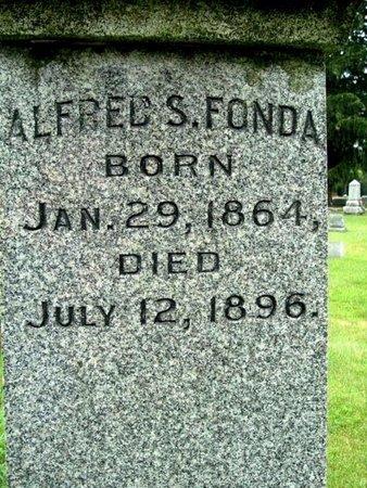 FONDA, ALFRED S - Calhoun County, Michigan | ALFRED S FONDA - Michigan Gravestone Photos