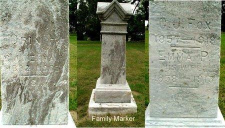 FOX, ORRIN H - Calhoun County, Michigan   ORRIN H FOX - Michigan Gravestone Photos