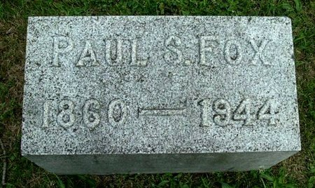 FOX, PAUL S - Calhoun County, Michigan | PAUL S FOX - Michigan Gravestone Photos