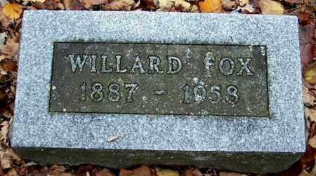 FOX, WILLARD - Calhoun County, Michigan | WILLARD FOX - Michigan Gravestone Photos