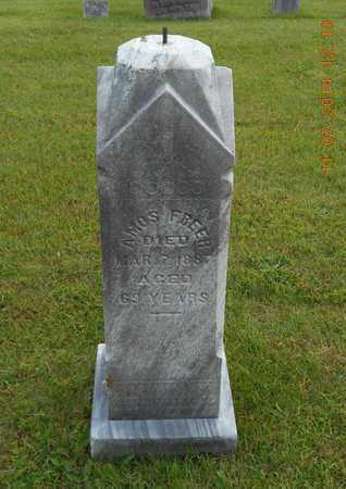 FREER, AMOS - Calhoun County, Michigan | AMOS FREER - Michigan Gravestone Photos