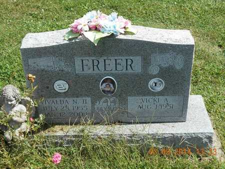 FREER, II, VIVALDA N. - Calhoun County, Michigan | VIVALDA N. FREER, II - Michigan Gravestone Photos