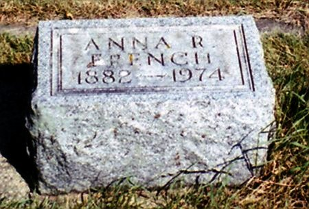 FRENCH, ANNA R. - Calhoun County, Michigan | ANNA R. FRENCH - Michigan Gravestone Photos