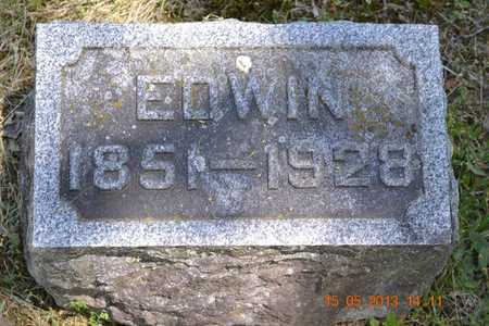 FRENCH, EDWIN - Calhoun County, Michigan | EDWIN FRENCH - Michigan Gravestone Photos