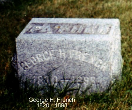 FRENCH, FRENCH - Calhoun County, Michigan | FRENCH FRENCH - Michigan Gravestone Photos