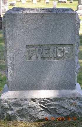 FRENCH, FAMILY - Calhoun County, Michigan | FAMILY FRENCH - Michigan Gravestone Photos