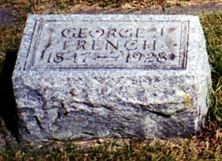 FRENCH, GEORGE J. - Calhoun County, Michigan | GEORGE J. FRENCH - Michigan Gravestone Photos
