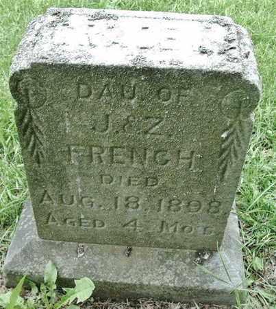 FRENCH, GRACE - Calhoun County, Michigan | GRACE FRENCH - Michigan Gravestone Photos