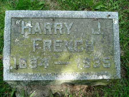 FRENCH, HARRY J. - Calhoun County, Michigan | HARRY J. FRENCH - Michigan Gravestone Photos