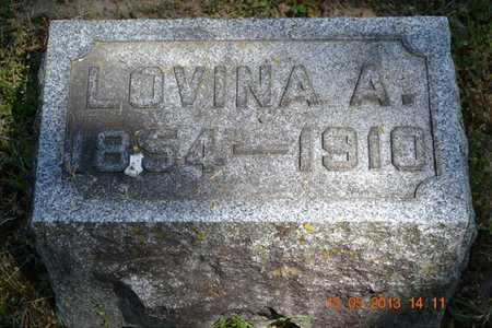 FRENCH, LOVINA A. - Calhoun County, Michigan | LOVINA A. FRENCH - Michigan Gravestone Photos