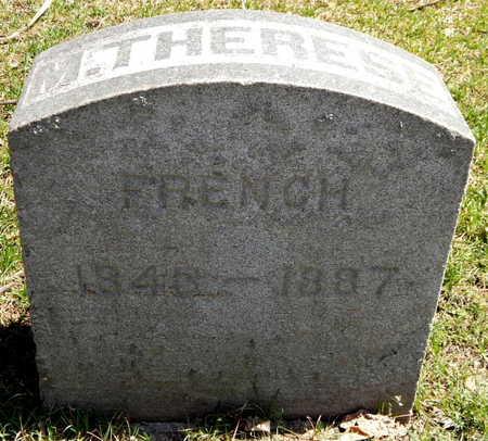 FRENCH, M. THERESE - Calhoun County, Michigan   M. THERESE FRENCH - Michigan Gravestone Photos