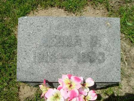 FRENCH, NEDRA - Calhoun County, Michigan   NEDRA FRENCH - Michigan Gravestone Photos