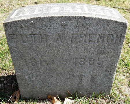 FRENCH, RUTH A - Calhoun County, Michigan | RUTH A FRENCH - Michigan Gravestone Photos