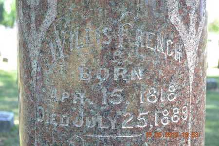FRENCH, WILLIS - Calhoun County, Michigan | WILLIS FRENCH - Michigan Gravestone Photos