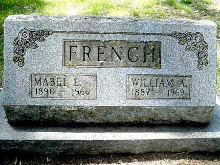 FRENCH, MABEL L - Calhoun County, Michigan | MABEL L FRENCH - Michigan Gravestone Photos