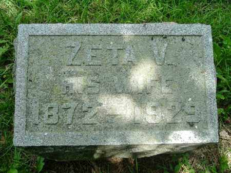 FRENCH, ZETA - Calhoun County, Michigan | ZETA FRENCH - Michigan Gravestone Photos
