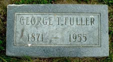 FULLER, GEORGE T - Calhoun County, Michigan | GEORGE T FULLER - Michigan Gravestone Photos
