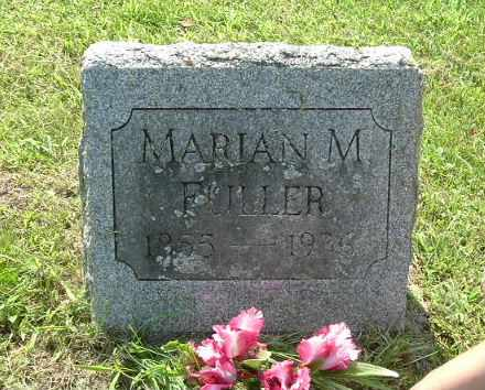 FULLER, MARIAN - Calhoun County, Michigan | MARIAN FULLER - Michigan Gravestone Photos