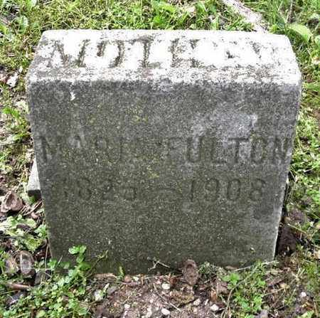 HORTON FULTON, MARIE - Calhoun County, Michigan | MARIE HORTON FULTON - Michigan Gravestone Photos