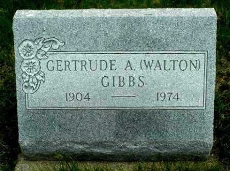 GIBBS, GERTRUDE A - Calhoun County, Michigan | GERTRUDE A GIBBS - Michigan Gravestone Photos