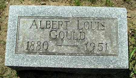 GOULD, ALBERT L - Calhoun County, Michigan | ALBERT L GOULD - Michigan Gravestone Photos