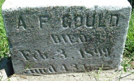 GOULD, ALBERT F. - Calhoun County, Michigan | ALBERT F. GOULD - Michigan Gravestone Photos