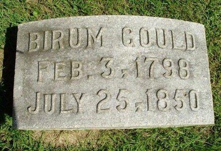 GOULD, BIRUM - Calhoun County, Michigan | BIRUM GOULD - Michigan Gravestone Photos