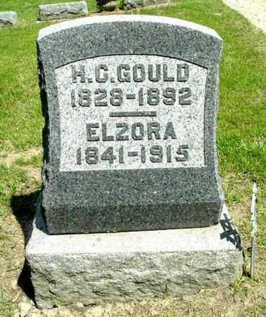 GOULD, H. C. - Calhoun County, Michigan | H. C. GOULD - Michigan Gravestone Photos