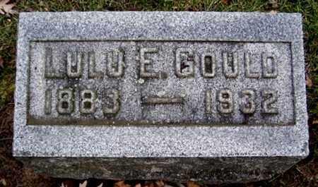 GOULD, LULU E - Calhoun County, Michigan   LULU E GOULD - Michigan Gravestone Photos