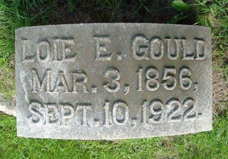 GOULD, LOIE - Calhoun County, Michigan | LOIE GOULD - Michigan Gravestone Photos