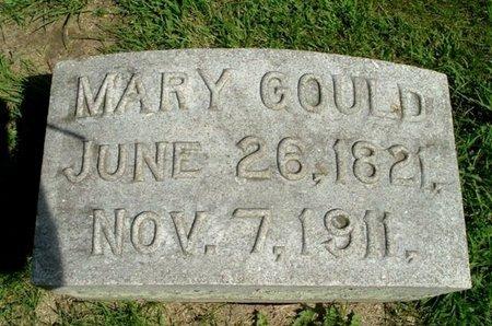 GOULD, MARY - Calhoun County, Michigan   MARY GOULD - Michigan Gravestone Photos