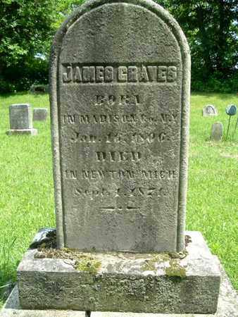 GRAVES, JAMES - Calhoun County, Michigan | JAMES GRAVES - Michigan Gravestone Photos