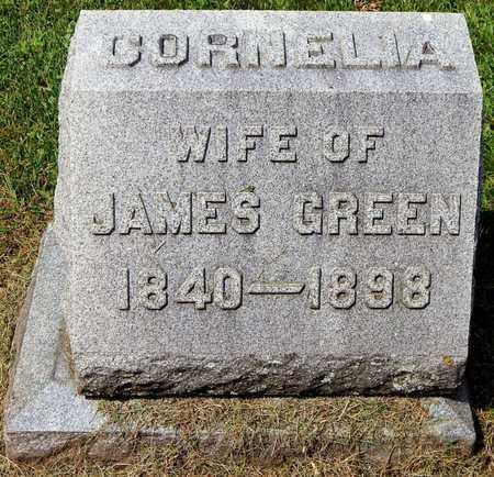 GREEN, CORNELIA - Calhoun County, Michigan | CORNELIA GREEN - Michigan Gravestone Photos