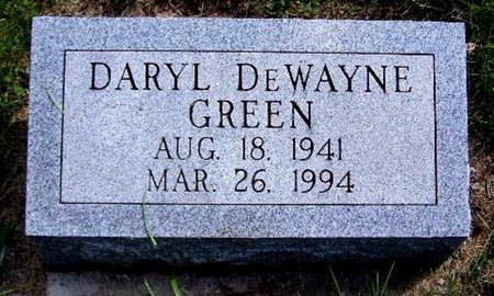 GREEN, DARYL D - Calhoun County, Michigan | DARYL D GREEN - Michigan Gravestone Photos