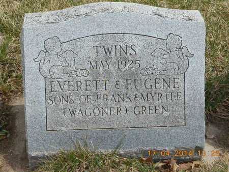 GREEN, EUGENE - Calhoun County, Michigan | EUGENE GREEN - Michigan Gravestone Photos