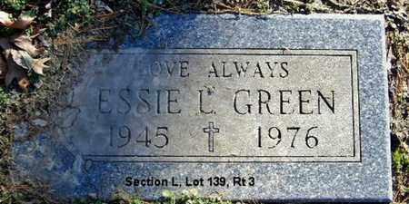 GREEN, ESSIE L - Calhoun County, Michigan | ESSIE L GREEN - Michigan Gravestone Photos