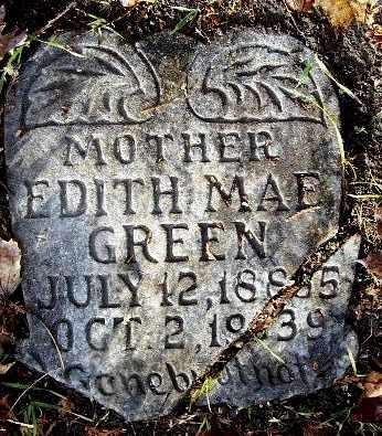GREEN, EDITH MAE - Calhoun County, Michigan | EDITH MAE GREEN - Michigan Gravestone Photos